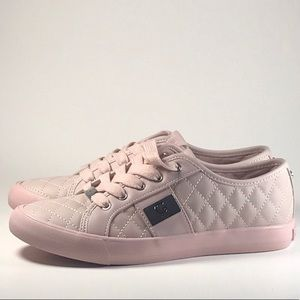 Firm Price Guess Pink Leather Shoes